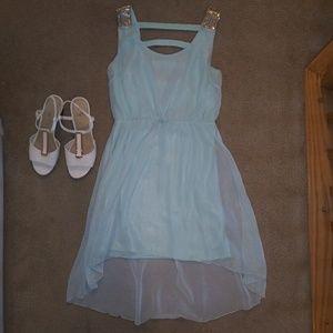 🔴5/$25 Blue Formal Dress - Charlotte Russe, M